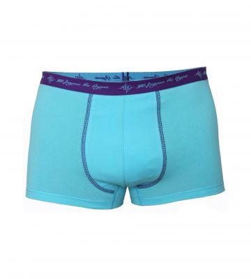 Herren Retro Pants aqua 2er Pack