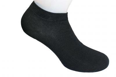 Herren Sneaker Socken schwarz 5er Pack GOTS