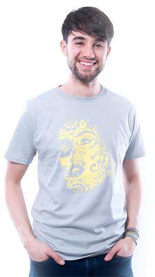Herren T-Shirt Eternal Love grau
