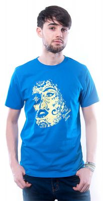 Herren T-Shirt Eternal Love blau